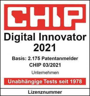 Qualitätssiegel Digital Innovator 201